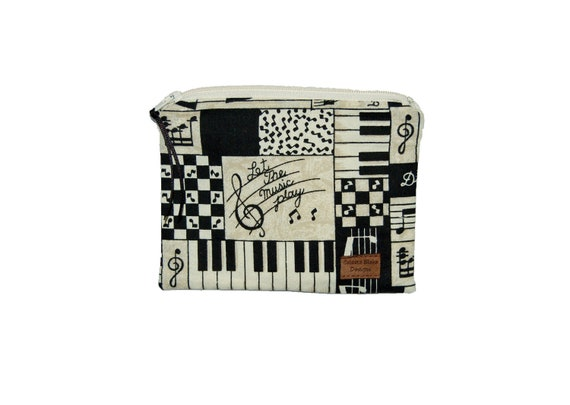 Reusable Snack Bag - Let the Music Play