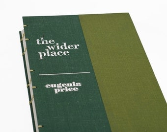 1966 THE WIDER PLACE Vintage Notebook Journal