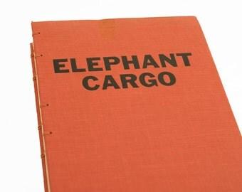 1959 ELEPHANT CARGO Vintage Notebook Journal