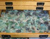 925g Bulk Order - (2lbs) Scottish Sea Glass Mix - Wedding Decor - Job Lot - Mosaic - Craft Project (Seaglass 925)