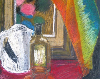 Still Life - Original Pastel Painting