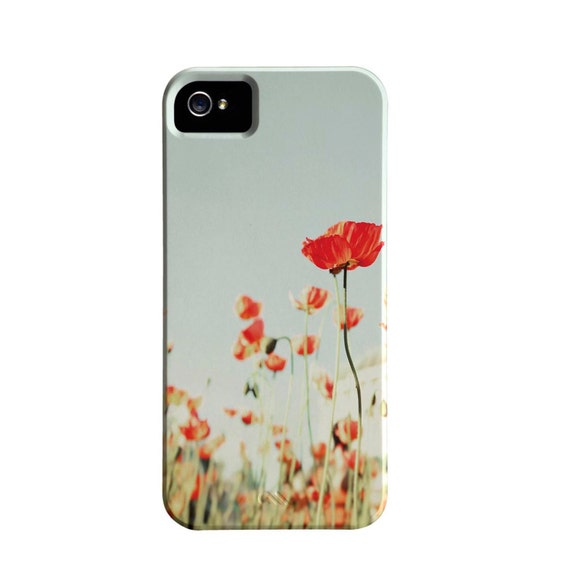 50% Off, iPhone 5 Case, Floral, Poppy, Case For iPhone 5, Nature, Flower Photography
