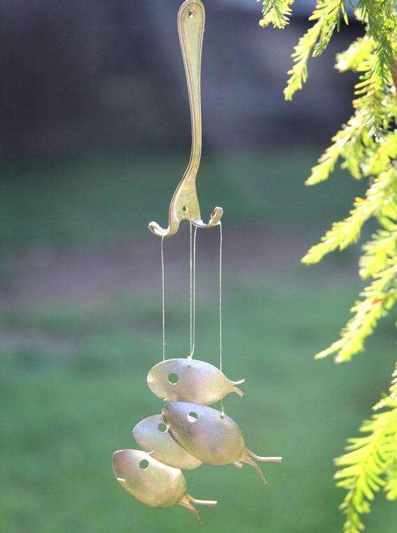Minnow sized spoon fish windchimesguppy tadpole fishdinner for Fishing in the wind