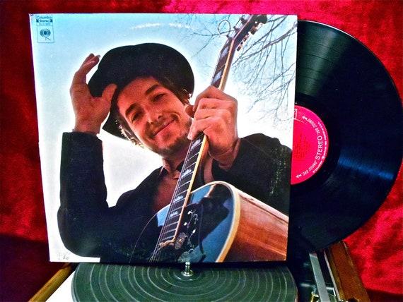 BOB DYLAN - Nashville Skyline - 1969 Vintage Vinyl Record Album