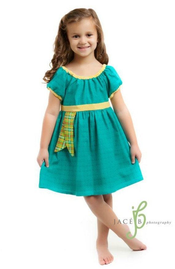 Merida Brave Disney Inspired Peasant Dress Costume