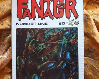 Fantagor No 1 Richard Corben 1970 Horror Last Gasp Comix Comic Book Graphic art Stories