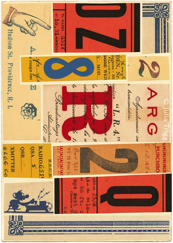 Signals: no. 4, limited edition print 420 x 594mm