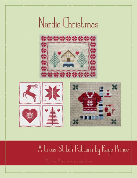 Nordic Christmas - A Cross Stitch Series by Kaye Prince of Miss Print
