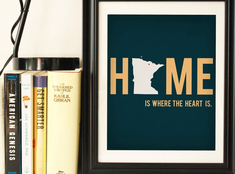 State Artwork State Art Minnesota Art Minnesota Map - Chicago map artwork