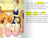 Personalized Ballerina Princess Book, Ballet, Dance, Learn Ballet Steps, Ballet Lessons - wehive
