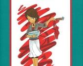 Cookbook Apron Free Cooking 3-Ring Binder