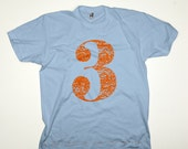 "Children's T-shirt ""I AM THREE"" Birthday Tee"