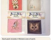 "Sticker Pack (4 3x3"" stickers)"