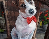 MasterJack, CUSTOM Pet Portrait Oil Painting by puci, 10x12""