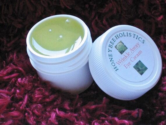 Organic Eye Cream made with Organic Jojoba & Organic Carrott Seed Essential Oil - 1/2 oz. in BPA free jar