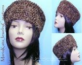 Crochet Double yarn hat. ...beautiful and handmade