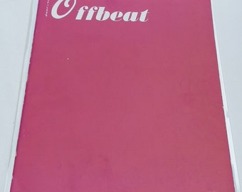 Vintage Sci Fi 1959 Offbeat Magazine Vol No 6 Variety Mag Hollywood Sci-fi Pulp Periodical Science Fiction Space Odyssey DanpickedMinerals