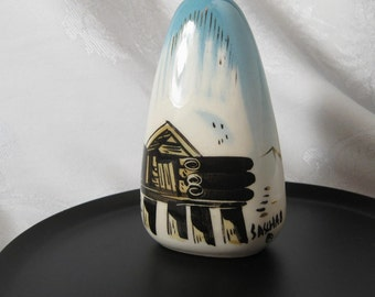 Sascha Brastoff Ceramic California Pottery Salt