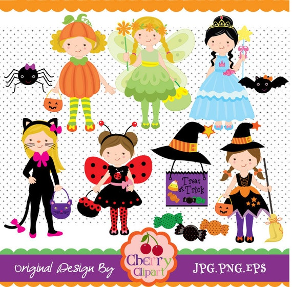 craft ideas for halloween costumes digital clip set for personal 3850