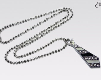 Fifty Shades of Grey inspired 'Christian Tie' Necklace.