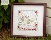 His Mercies Are New - Summer - 100% Cotton Embroidery Pattern