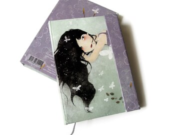 Notebook with Magnetic Closure - Les Papillons - 80 Blank Sheets