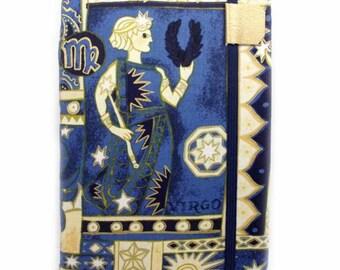 Kindle Cover - fits new basic Kindle - Virgo Zodiac - hardcover case for kindle - astrology star sign September