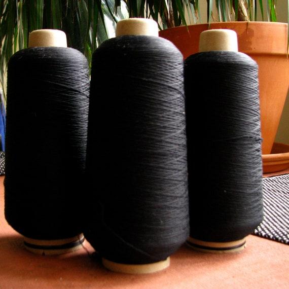 3 Large Spools Wooly Nylon Thread