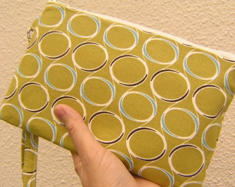 Wedding Clutch 2 pockets,green,medium,discount plan set - Crystal Ball