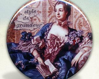 Madame de Pompadour Pocket Mirror