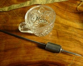 Beaded Teacup Spindle -- 29 Supported Spindle