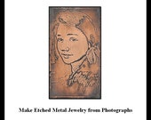 Laura Bracken Photo Etching Tutorial DIY Personalized Gifting Like No Other