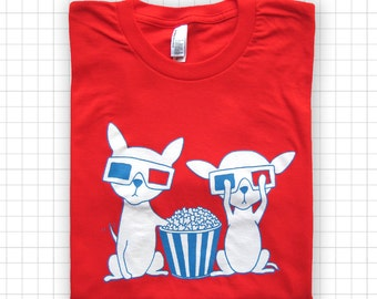 SALE Chihuahuas In 3D ADULT T-shirt