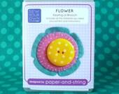 Teal Flower Mini Kit