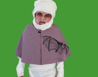 Bat Halloween Cape - small
