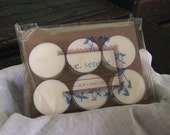 Peppermint Eucalyptus, Soy Tea Light Candles, Stress Relief, Handcrafted Vegan Candles