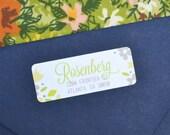 Family Flowers Return Address Labels