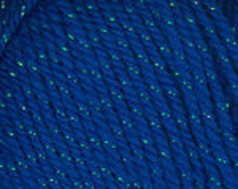 New - Plymouth Yarns Holiday Lights - Hanukkah Blue  - Color Number 8133