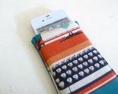 iPhone Sleeve, Typewriter Love