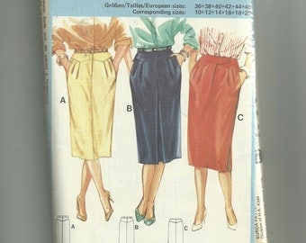 Burda Misses' Skirt Pattern 6602