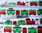 "7/8""  Joy train grosgrain ribbon 5 yards"
