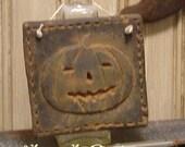 Primitive Jack Halloween Sampler Silicone Mold