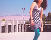 Feather Tank Dress