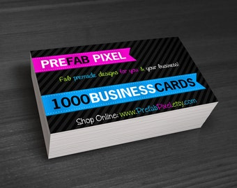 1000 Business Cards - Printing Only