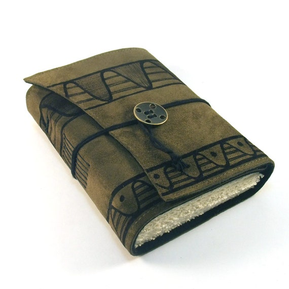 SALE - Helix, Leather journal, Notebook