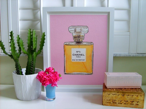 CHANEL No 5 Print in 8 colors