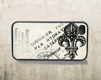 French Fleur de Lis Phone Case for  iPhone 4 4s 5 5s 5c SE 6 6s 7  6 6s 7 Plus Galaxy s4 s5 s6 s7 Edge