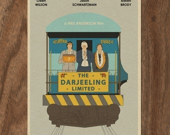 The DARJEELING LIMITED Limited Edition Print