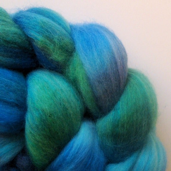 Tropical Blues - merino/cashmere/silk 100g/3.5oz