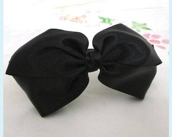 Large Black Bows Headband